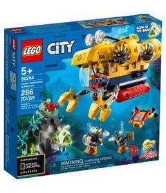 LEGO-City---Submarino-de-Exploracao-do-Oceano---60264-0