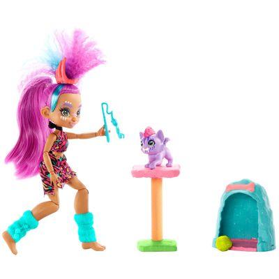 Boneca-Articulada---Cave-Club---Jogo-Roralai-Cat-Cond---Mattel-0