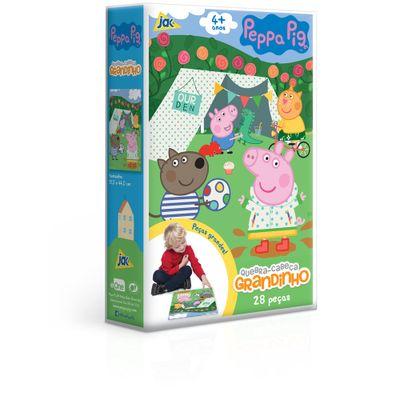 Quebra-Cabeca---28-Pecas---Grandinho---Peppa-Pig---Toyster-0