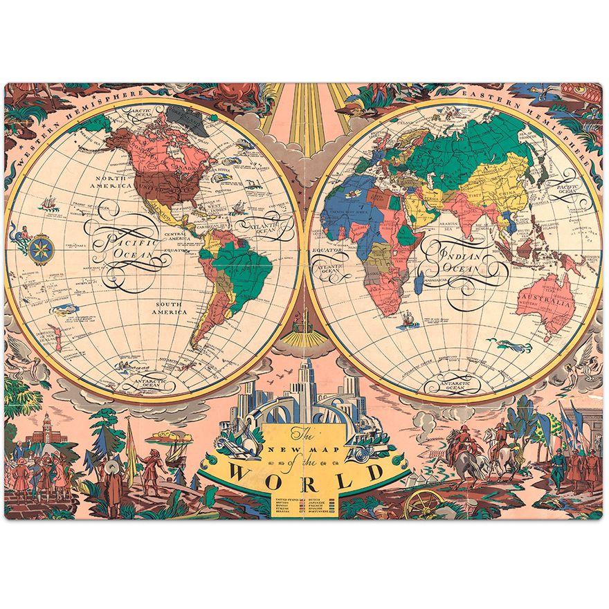 Quebra-Cabeca---1000-Pecas---O-Novo-Mapa-do-Mundo---Toyster-1