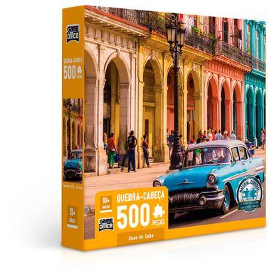 Quebra-Cabeca---500-Pecas---Ruas-de-Cuba---Toyster-0