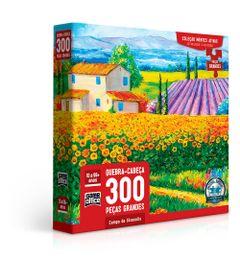 Quebra-Cabeca---300-Pecas---Mentes-Ativas---Campo-de-Girassois---Toyster-0