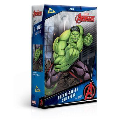 Quebra-Cabeca---200-Pecas---Disney---Marvel---Os-Vingadores---Hulk---Toyster-0