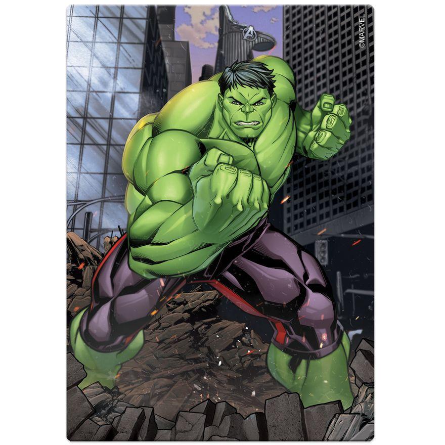 Quebra-Cabeca---200-Pecas---Disney---Marvel---Os-Vingadores---Hulk---Toyster-1