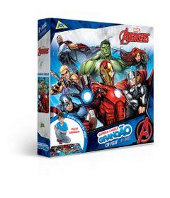 Quebra-Cabeca---120-Pecas---Grandao---Disney---Marvel---Os-Vingadores---Toyster-0