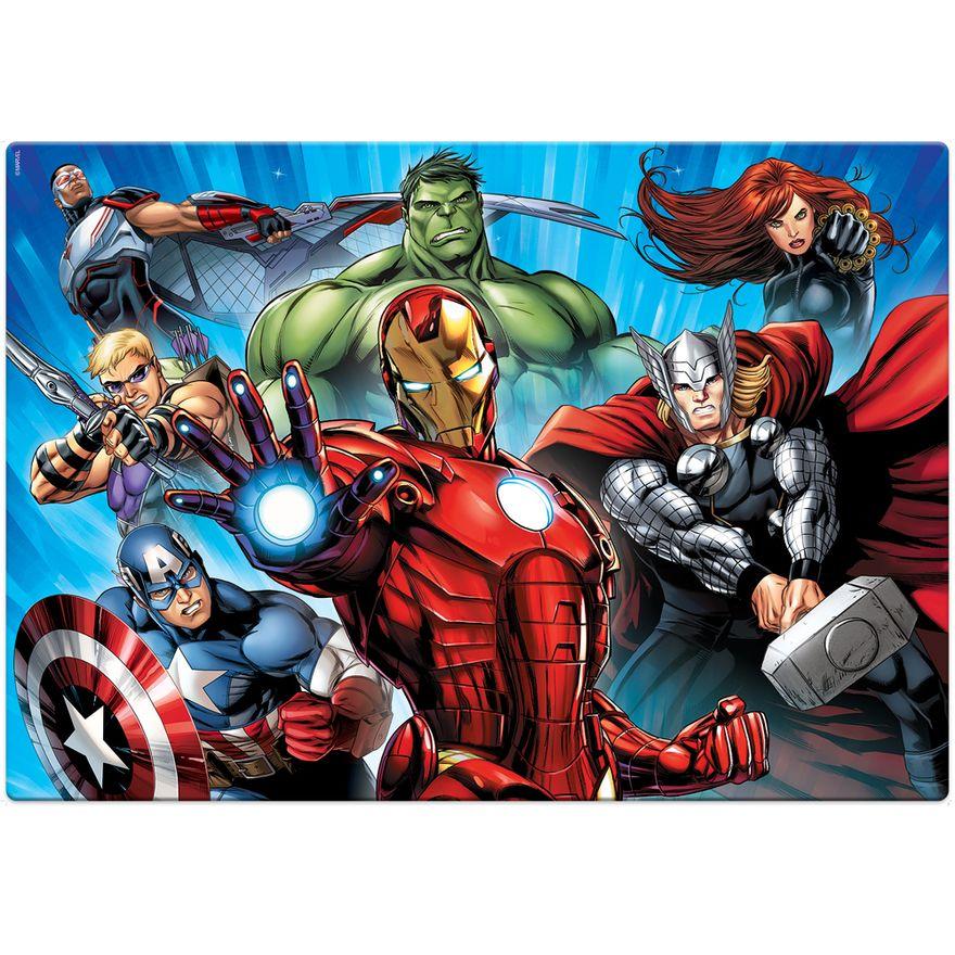 Quebra-Cabeca---120-Pecas---Grandao---Disney---Marvel---Os-Vingadores---Toyster-1