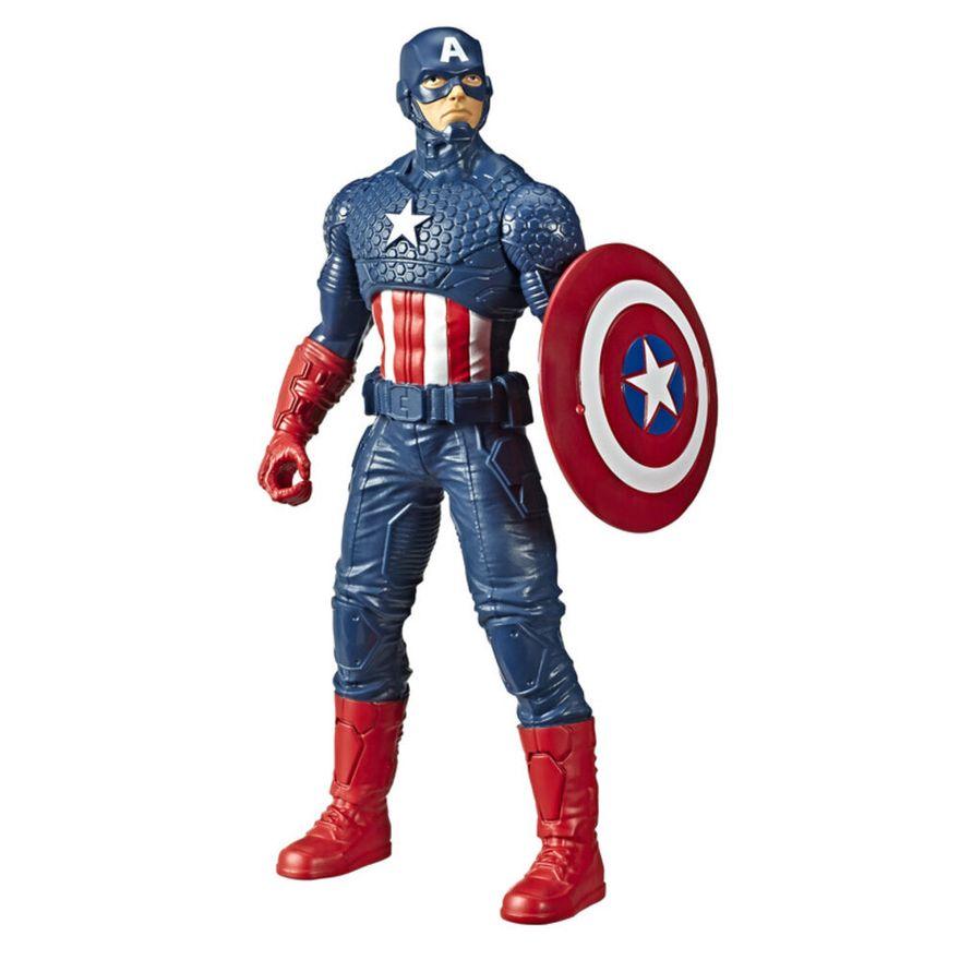 Figura-de-Acao---24-Cm---Disney---Marvel---Avengers---Capitao-America---Hasbro-0