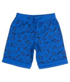Bermuda-Infantil---Moletom---Minions---100--Algodao---Azul---Minions---1