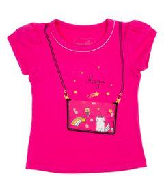 Blusa-Manga-Curta---Bolsinha-Plastico---Algodao-e-Elastano---Pink---Minimi---1