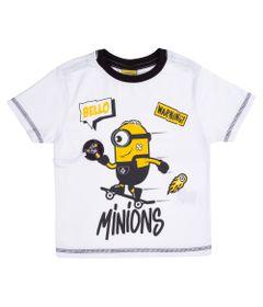 Camisa-Manga-Curta---Estampa-Minions-SK8---100--Algodao---Branco----Minions---2
