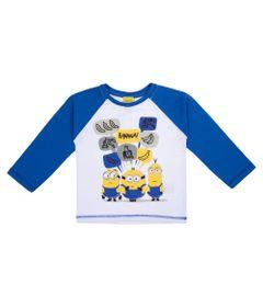 Camisa-Manga-Longa---Raglan---100--Algodao---Branco---Minions---1