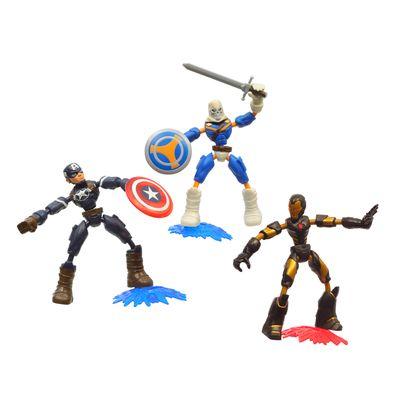 Conjunto-de-Bonecos-Articulados---Disney---Marvel---Bend-And-Flex--Vingadores---Hasbro-0