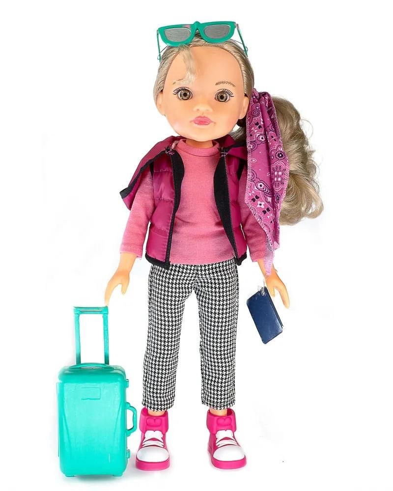 Boneca Meu Mundo Malu Viajante - Estrela