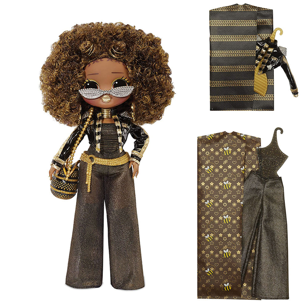 Boneca Articulada - LOL Surprise! - O.M.G Doll - Royal Bee - Candide