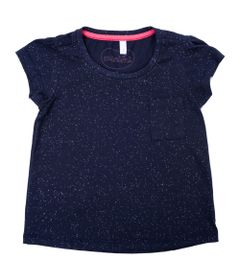 Blusa-Manga-Curta---Com-Bolso-e-Glitter---100--Algodao---Azul-Marinho---Minimi---1