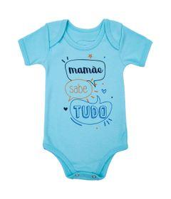 Body-Manga-Curta---Frases---Mamae-Sabe-Tudo---100--Algodao---Azul---Minimi---RN