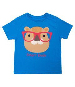 Camisa-Manga-Curta---Castor-de-Oculos---100--Algodao---Azul---Minimi---1