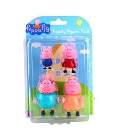 Mini-Figuras---Familia-Peppa---4-Personagens---Peppa-Pig---Sunny-0