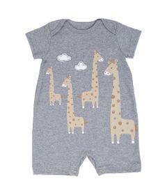 Macaquinho-Infantil---Girafa-na-Nuvem---Algodao-e-Poliester---Cinza---Minimi---RN