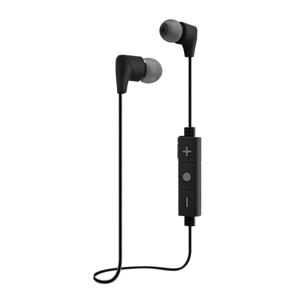 Fone De Ouvido I2GO I2GEAR080 Street Go Bluetooth Com Microfone 30cm Preto Com Cinza