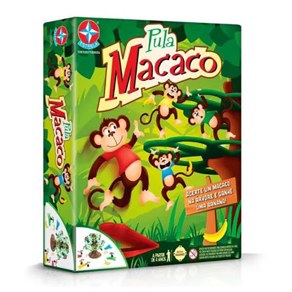 Brinquedo Estrela Pula Macaco 4+