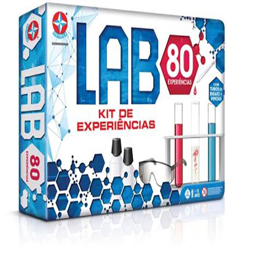 Conjunto de Atividades Estrela Jogo LAB 80 Experiências 10+