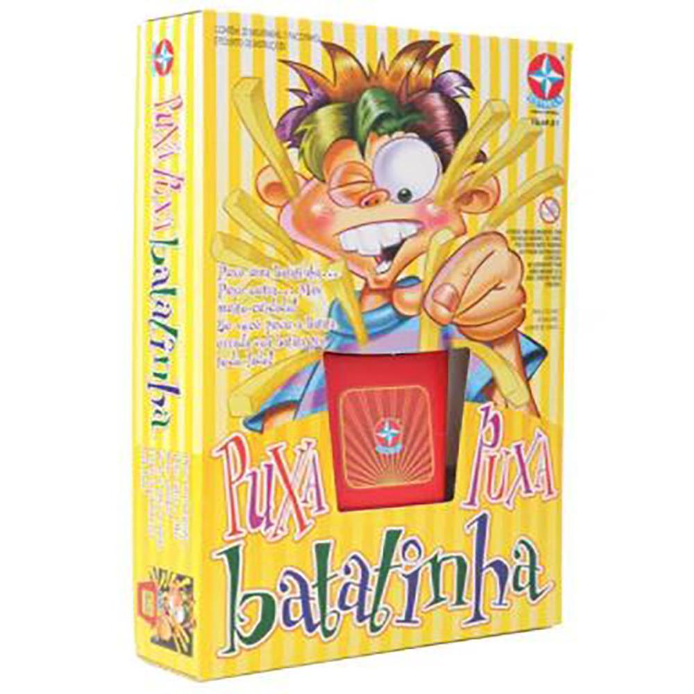 Brinquedo Estrela Puxa Puxa Batatinha 5+