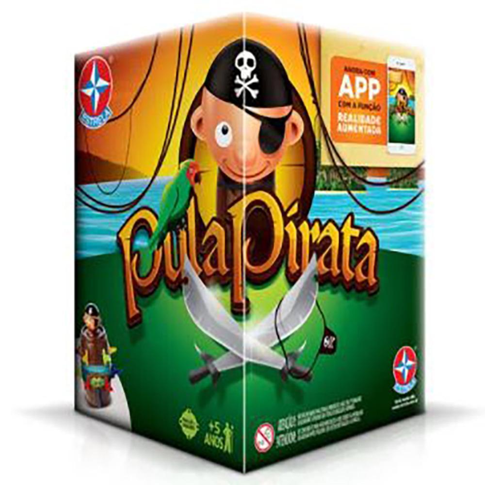 Brinquedo Estrela Pula Pirata 5+