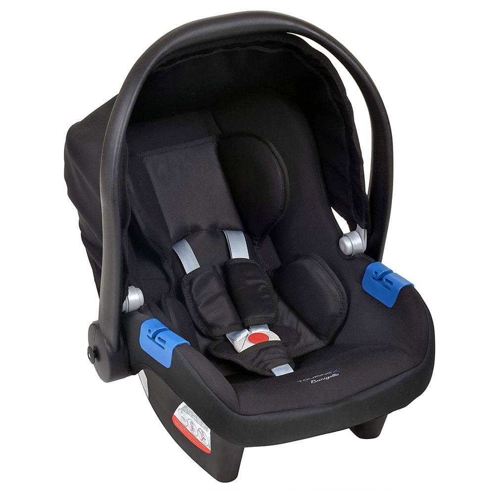 Bebê Conforto - Burigotto - Touring X - De 0 a 13 Kg - Preto