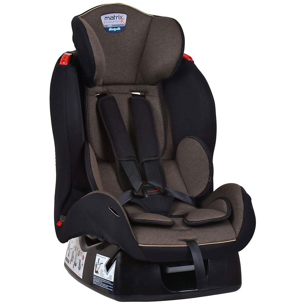 Cadeira Para Auto - De 0 a 25 Kg - Matrix Evolution K - Mescla Bege - Burigotto