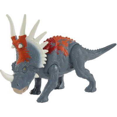 figura-articulada-jurassic-world-batalha-feroz-styracosaurus-mattel_Frente