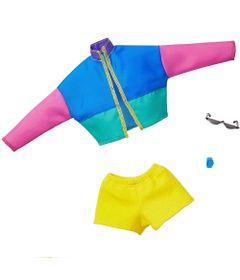 acessorios-de-boneca-barbie-fashionistas-blusa-colorida-e-shorts-amarelo-mattel_Frente