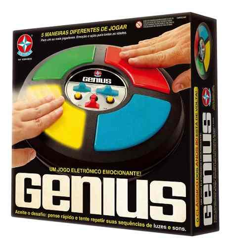 Jogo Eletrônico Desafio Genius Cordenação Motora Estrela