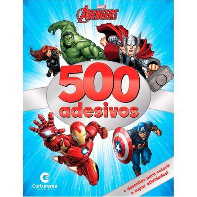 Livro-de-Adesivos---Disney---Marvel---Vingadores---500-Adesivos---Culturama
