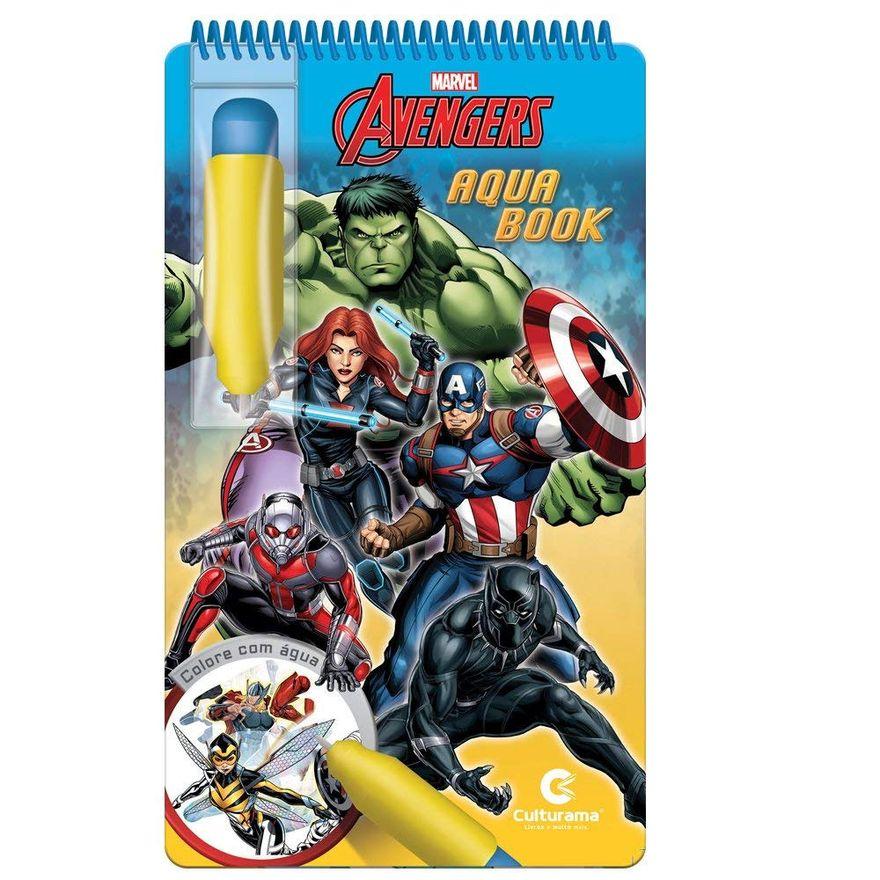 Livro-Infantil---Aquabook---Disney---Marvel---Vingadores---Culturama