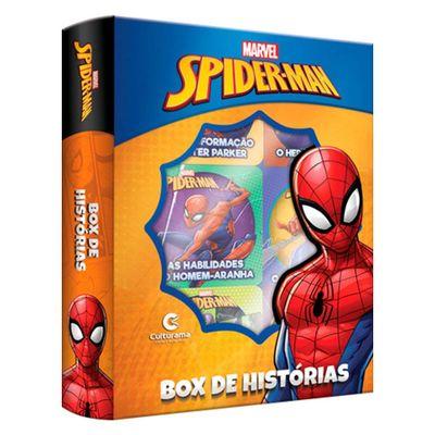 Livro-Infantil---Box-de-Historias---Disney---Marvel---Spider-Man---Culturama