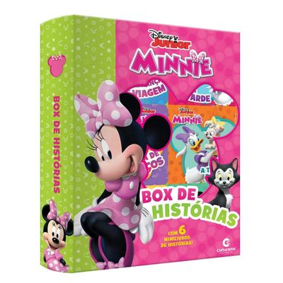Livro-Infantil---Box-de-Historias---Disney---Minnie-Mouse---Culturama