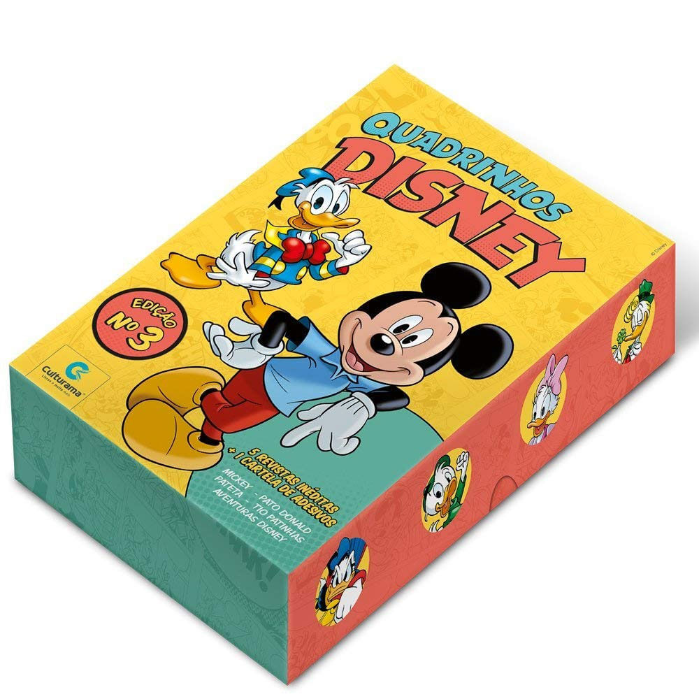 Livro Infantil - Box de Quadrinhos - Disney - Edição 3 - Culturama