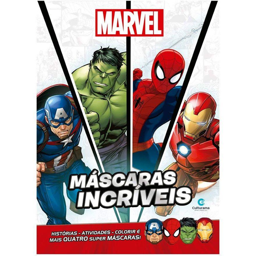 Livro-Infantil---Disney---Marvel---Vingadores---Mascaras-Incriveis---Culturama