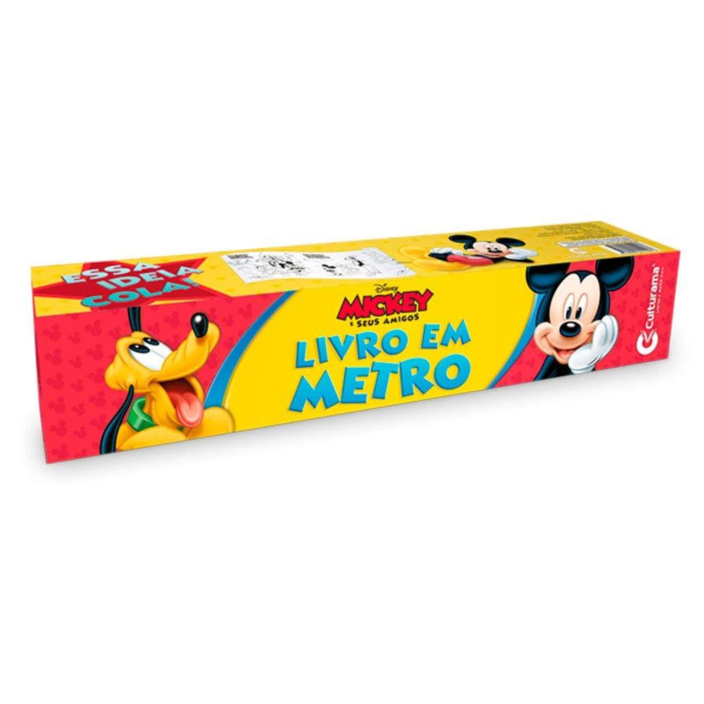 Oferta Livro Infantil - Disney - Mickey e Amigos - Livro em Metro - Culturama por R$ 14.99