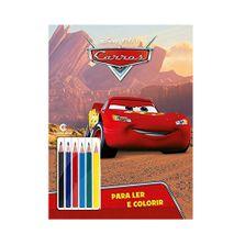 Livro-para-Colorir-e-Ler---Disney---Carros-com-Lapis---Culturama