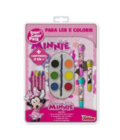 Livro-para-Colorir---Super-Color-Pack---Disney-Junior---Minnie---DCL-Editora
