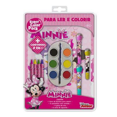 Livro-para-Colorir---Super-Color-Pack---Disney-Junior---Minnie---DCL-Editora