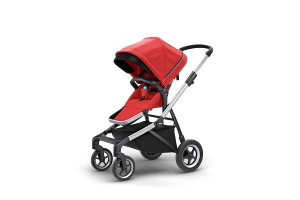 Carrinho Thule Sleek p/ 1 bebê Energy Red (11000004)
