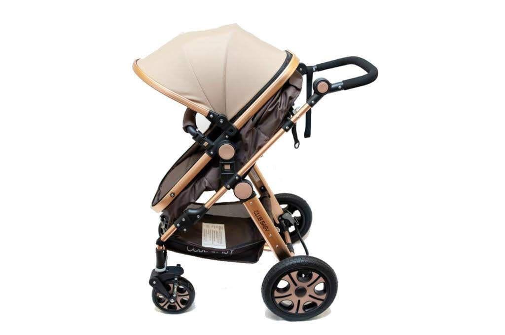 Carrinho de bebê Golden Dourado Club Baby