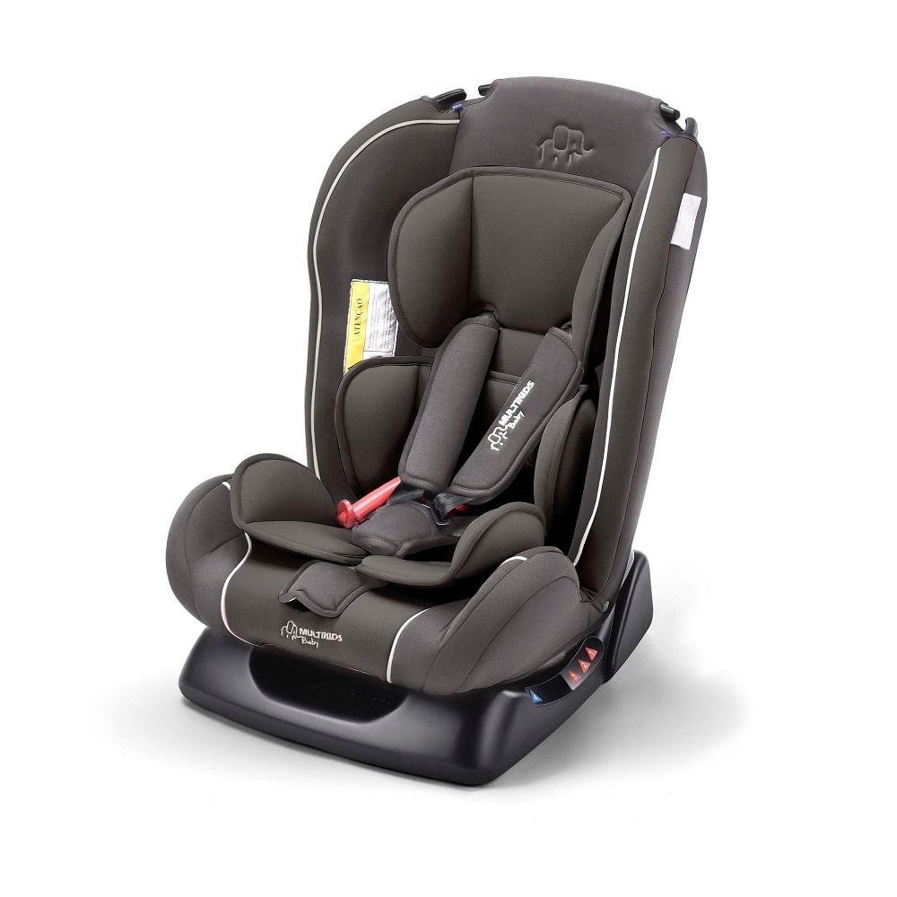 Cadeira Para Auto - De 0 a 25 Kg - Baby Prius - Cinza Escuro - Multikids