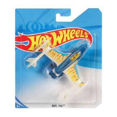 aviao-hot-wheels-duel-tail-mattel_Frente