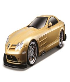 Carrinho---Radio-Control---Street-Series---Mercedes-Benz-McLaren---Dourado---Maisto-0