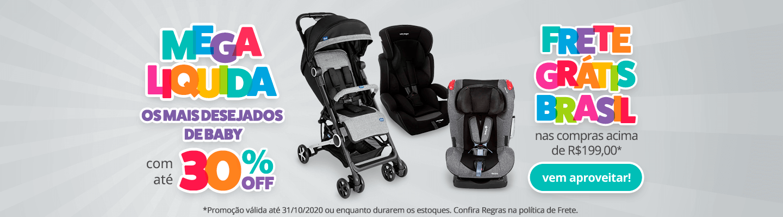 02 - Fullbanner - Desktop - Mega Liquida  - Os mais desejados de Baby com até 30% OFF - act