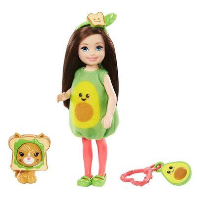 boneca-barbie-club-chelsea-festa-a-fantasia-avocado-mattel_Frente